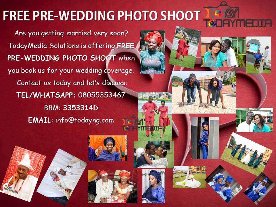 free pre wedding by TodayMedia